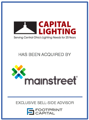 Capital Lighting Acquired By Mainstreet Investment